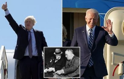 Biden and Johnson to open US-UK travel channel 'as soon as possible'