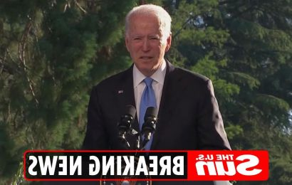 Biden says Putin doesn't want a 'Cold War' & strips off in bizarre speech after referring to Russian as President Trump