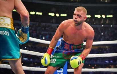 Billy Joe Saunders considering retirement after Canelo Alvarez loss and horror eye injury with Brit '50-50 on decision'