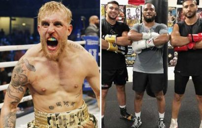 Boxer who sparred both Jake Paul AND Tommy Fury backs Tyson's brother to destroy 'insecure Disney Channel star'