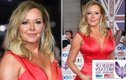 Carol Vorderman rules out TV work after falling ill but will return to Pride of Britain