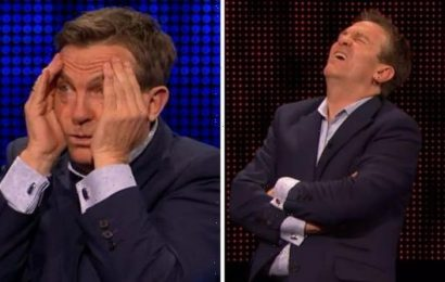 'Come on!' Bradley Walsh vents frustration after player fails to answer a single question