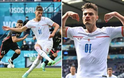 Czech Republic's Patrik Schick reveals he's scared of flying as he aims to soar above England at Euro 2020