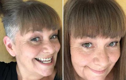 Dawn French reveals extreme hair transformation with undercut and embraces going grey