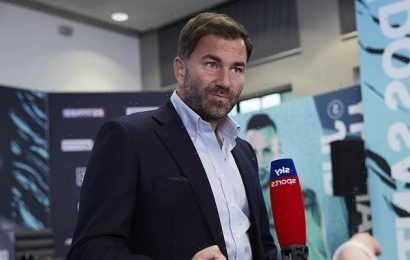 Eddie Hearn warns that YouTube boxing fights may 'KILL' the sport