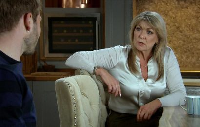 Emmerdale spoilers: Jamie Tate discovers mum Kim's secret camera and plot over her poisoning