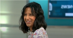 GMB's Ranvir Singh forced to stop presenting after son FaceTimes her live on-air