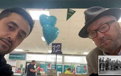 George Galloway supporter battling is Holocaust denier