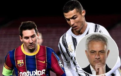 Jose Mourinho reveals secret behind Cristiano Ronaldo's success and says he doesn't care about Lionel Messi comparison