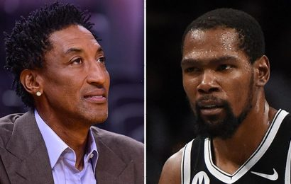 Kevin Durant fires back at Scottie Pippen's criticism of his teamwork