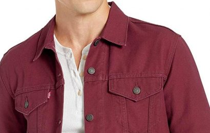 Last Minute Father's Day Gifts: Levi's Jean Jackets For Men at Amazon
