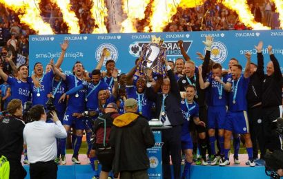 Leicester winning 2015-16 Premier League title voted biggest sporting upset of all-time ahead of 'Miracle of Istanbul'