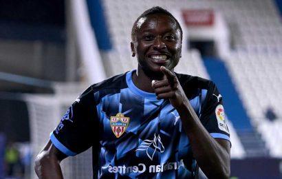Man City join transfer race for Almeria goal-machine Umar Sadiq with Spanish side demanding £26m fee