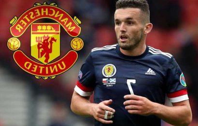 Man Utd and Liverpool in John McGinn transfer battle with Aston Villa star impressing for Scotland at Euro 2020