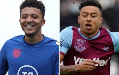 Man Utd star Jesse Lingard wanted by West Ham on permanent transfer but £77m Jadon Sancho deal holding up talks progress