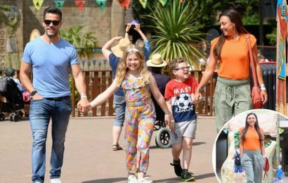 Michelle Heaton looks happy and healthy on family day out after rehab saved her life from drugs and booze battle