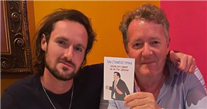 Piers Morgan's son makes fun of his ITV walk-out with playful Father's Day card