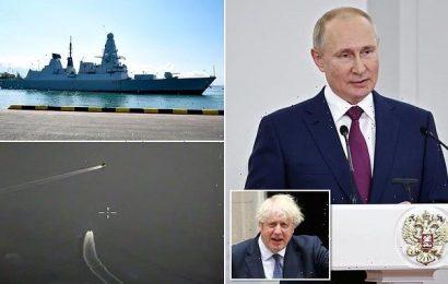 Putin goads Britain again over HMS Defender