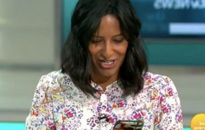 Ranvir Singh stops GMB filming to check everything is ok after son calls her