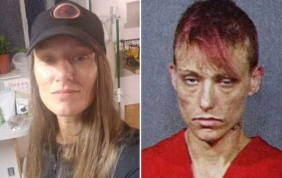 Remarkable before-and-after pics of drug addict mum who turned her life around