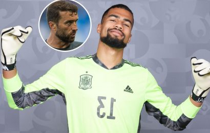 Robert Sanchez left 'second father' Ben Roberts with a tear in his eye after earning Spain Euro 2020 call-up