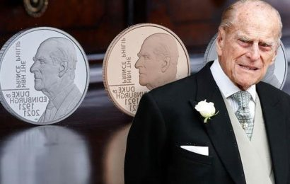Royal Mint launch new £5 coin celebrating the life and legacy of Prince Philip