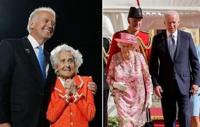 'She reminded me of my mother': Biden says of The Queen