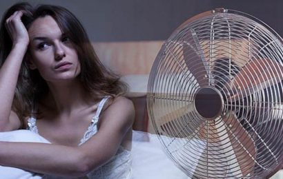 Sleeping with a fan on can be damaging to your health