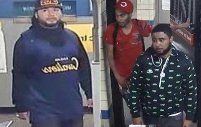 Three suspects wanted for Brooklyn subway slashing