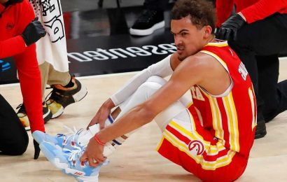 Trae Young's 'freaky bad accident' could derail Hawks' NBA playoff run
