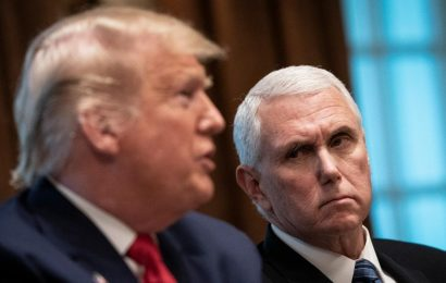 Trump Suggests He'll Dump Pence If He Seeks Re-election in 2024