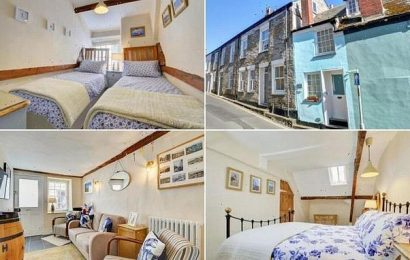 Two-bedroom cottage narrower than London bus goes on market £430,000