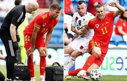 Wales 0-0 Albania: Ramsey survives injury scare but Welsh 'look lost' in final Euro 2020 warm-up