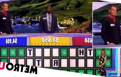 Wheel of Fortune contestant could not be more wrong