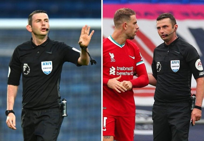 Who is Michael Oliver? What games is Premier League referee taking charge of at Euro 2020? Can he ref England matches?