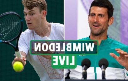 Wimbledon 2021 LIVE RESULTS: Djokovic vs Draper on Day 1, Murray also on today – TV channel, stream FREE, start times