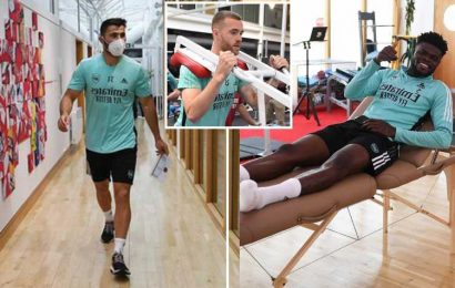Arsenal return for pre-season training with top stars missing while on holiday still but forgotten man Kolasinac back