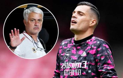 Arsenal set to offer Granit Xhaka shock new contract with Roma transfer on rocks as they fail to make suitable offer