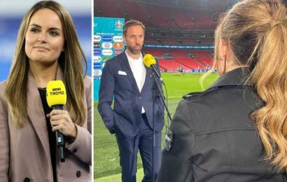 BBC Sport presenter Kelly Somers went from season ticket holder at Watford to interviewing Gareth Southgate at Euro 2020