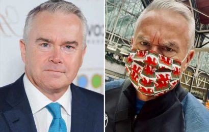 BBC newsreader Huw Edwards shocked as 'angry' Tube passenger orders him to take off his mask – for bizarre reason
