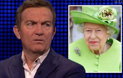 Bradley Walsh blasts 'ridiculous' The Chase question about the Queen 'Not having that!'