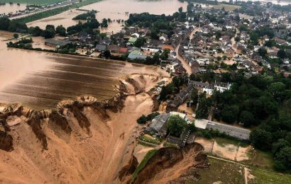 Catastrophic flooding across western Europe leaves over 100 dead, scores missing