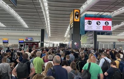 Chaos at airports as key workers are ordered to go into self-isolation