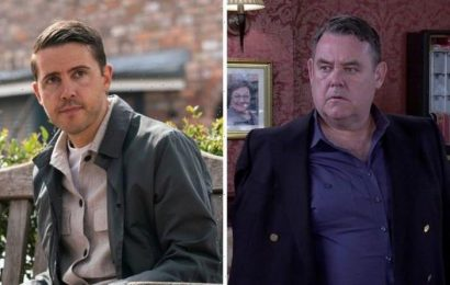 Coronation Street blackmail as George Shuttleworth's criminal past used against him?