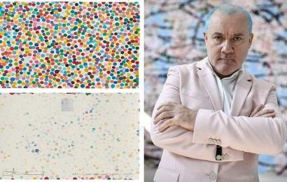 Damien Hirst launches 10,000 non-fungible tokens called 'The Currency'