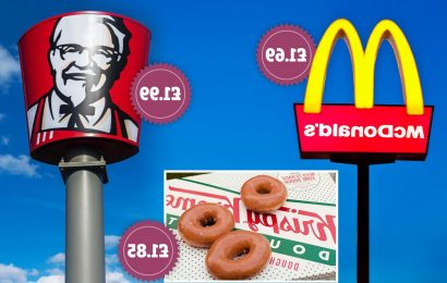 Food and drink freebies you can get instantly from McDonalds, KFC and Krispy Kreme