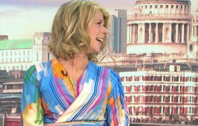 GMB's Kate Garraway quips she 'twerks' every time she sits on the sofa