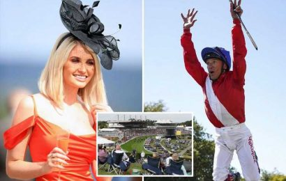 Giant 25-METRE bar, room for 100,000 punters and fun for all the family, it's party time at Qatar Goodwood Festival