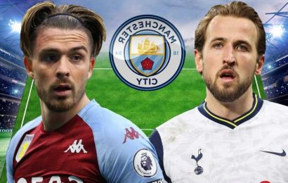 How Man City could line up with Harry Kane and Jack Grealish two of SIX England Euro 2020 stars after transfers