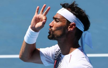 Italian tennis player Fabio Fognini sorry for using anti-gay slur at Tokyo 2020 Olympics and says 'heat went to my head'